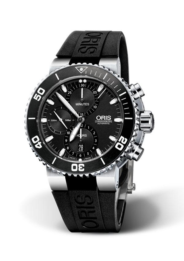 predominante salida de fábrica comprar mejor Reloj ORIS Aquis Chronograph