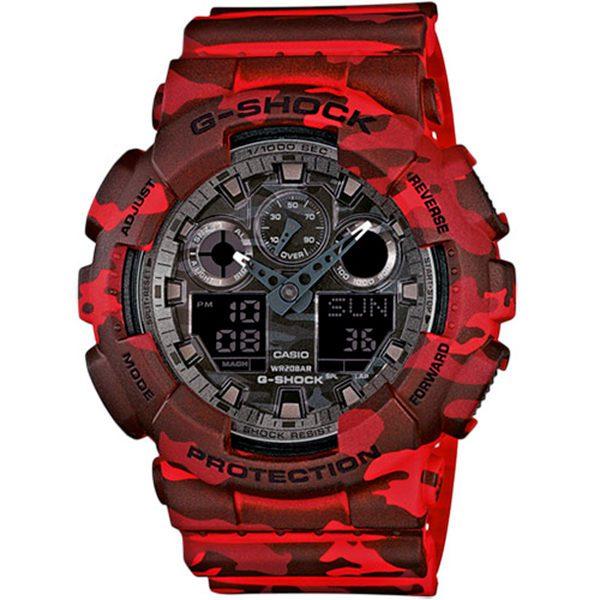 Reloj Casio G-Shock rojo albacete royo