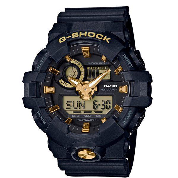 Reloj Casio G-Shock albacete royo dorado