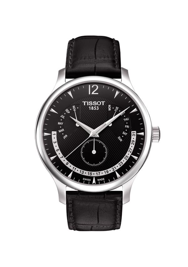 Reloj Tissot Tradition km negro albacete