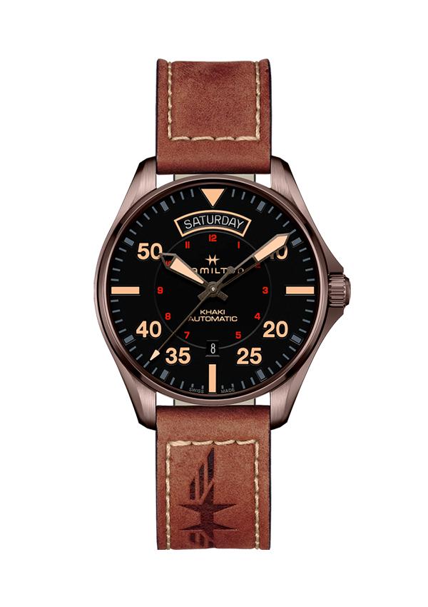 Reloj Hamilton Khaki Aviation Day Date Auto