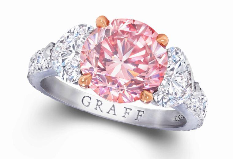 diamante rosa graff