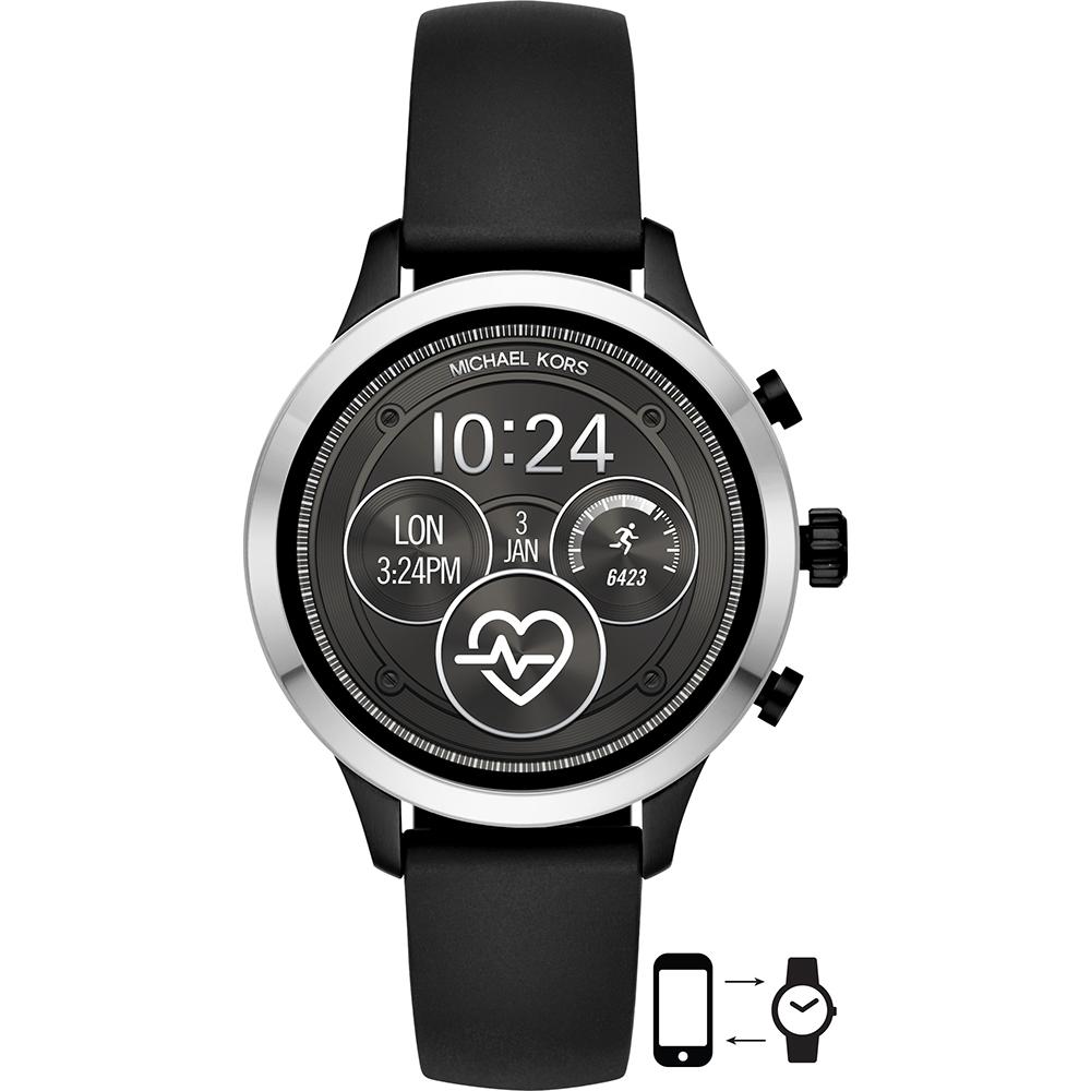 Smartwatch Michael Kors Mkt5049 De Silicona Negra