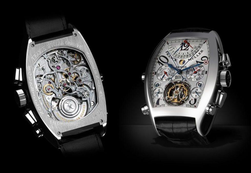 Lista de los 10 relojes más caros del mundo (de pulsera)