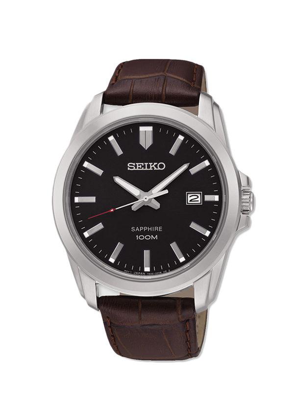 Reloj de hombre Seiko de piel