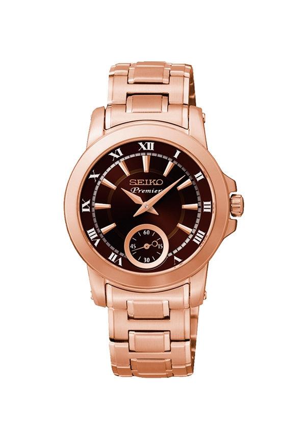 bf9080d24539 Reloj Seiko Premier de Mujer Dorado