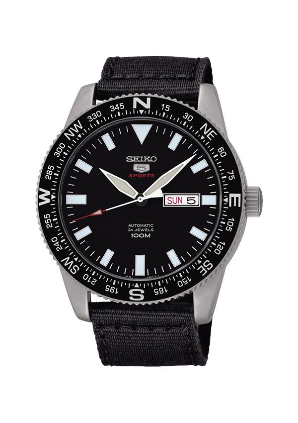 Reloj Seiko 5 Sports negro