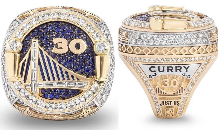 Los anillos de campeón de la NBA