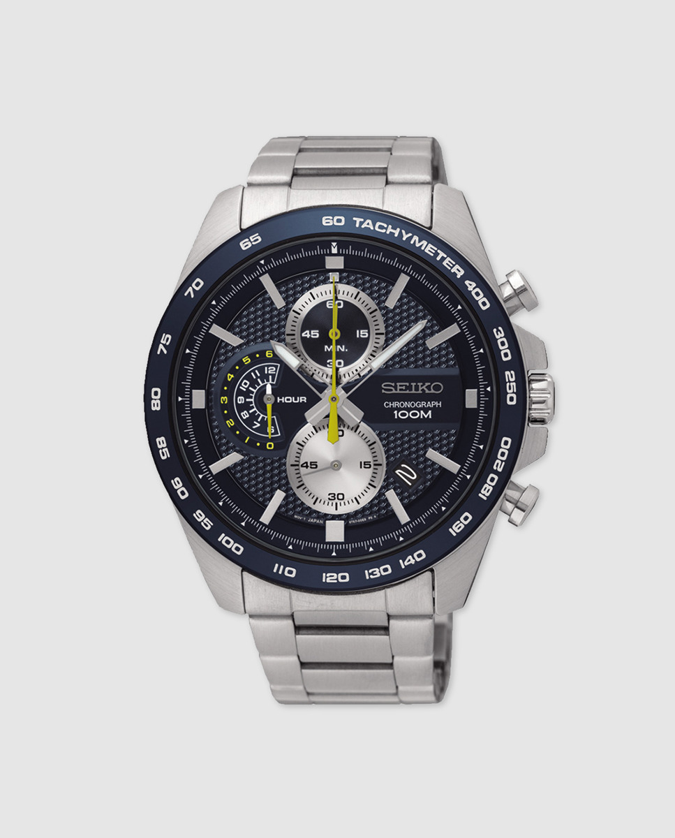 Cronógrafo Seiko Reloj Acero Sport Neo De c53AjqSRL4