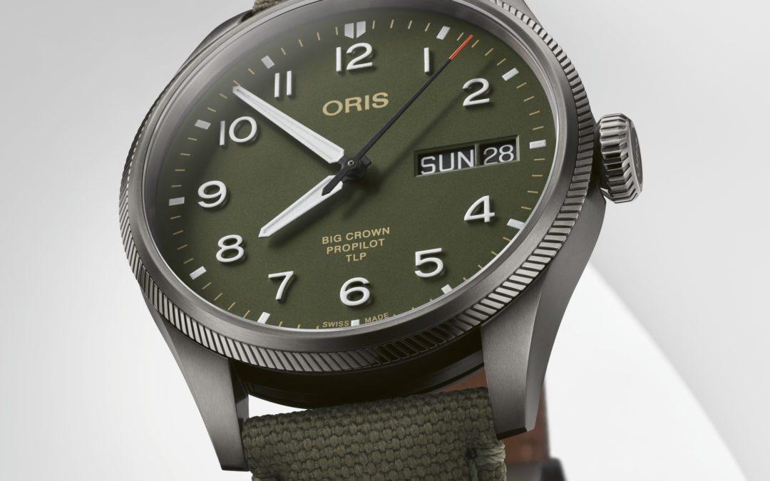 Homenaje de ORIS a TLP con un reloj de edición limitada.